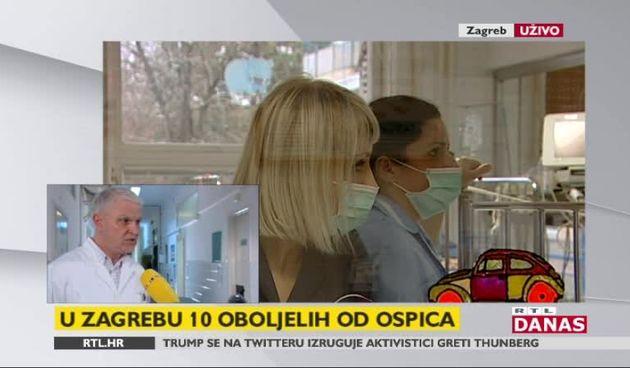 Dr. Puljiz: 'Imamo manju epidemiju ospica u Zagrebu' (thumbnail)