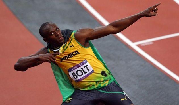Usain Bolt, olimpijski pobjednik na 100m, foto: london2012.com