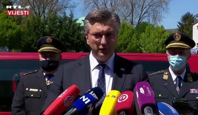 Plenković na 145. obljetnici vatrogastva u Hrvatskoj  (thumbnail)