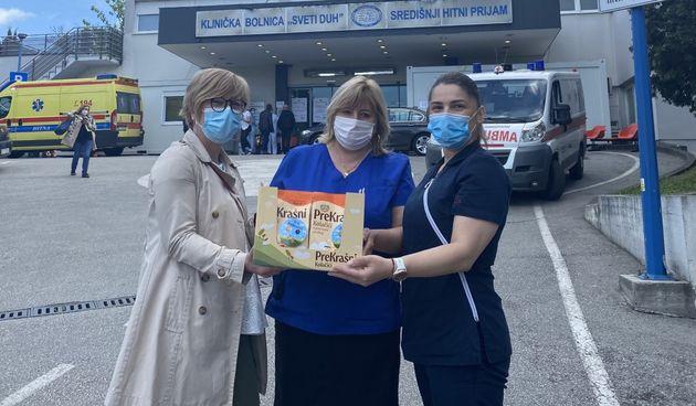 PreKrašnim kolačićima Kraš razveselio žene smještene u rodilištima diljem Hrvatske