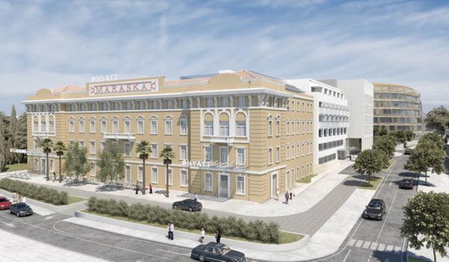 Pogledajte kako će izgledati Hotel Hyatt Regency Zadar Maraska