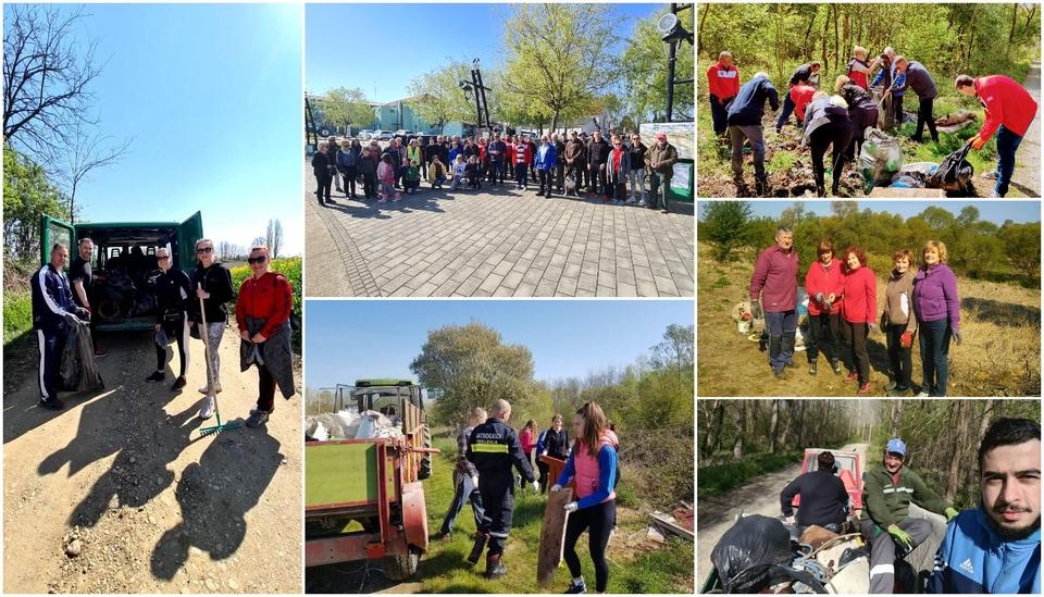 Velik broj građana priključio se zelenoj čistki u Murskom Središću