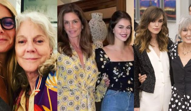 Gwyneth Paltrow, Blythe Danner, Cindy Crawford, Kaia Gerber,  Keira Knightley ,Sharman Macdonald