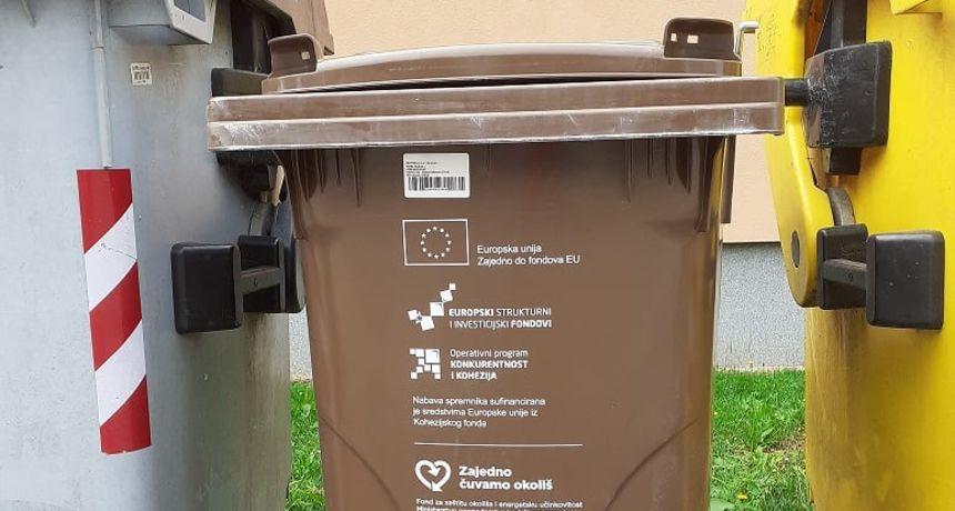Čistoća kreće s podjelom spremnika za biootpad i korisnicima koji imaju obiteljske kuće