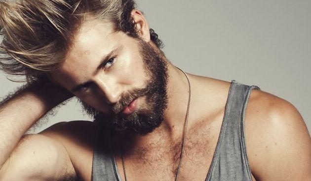Muskarac; brkovi, brada