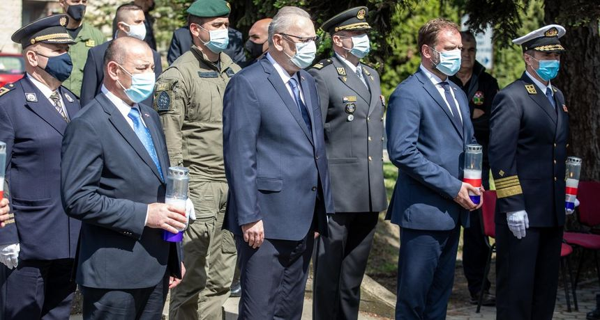 Božinović u Borovu: 'Ubojstvo 12 redarstvenika bio je jedan od najokrutnijih i najpodlijih zločina'