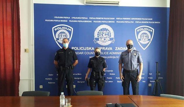 Načelnik Dražina primio Antoniju Radeljić – najspremniju policajku i