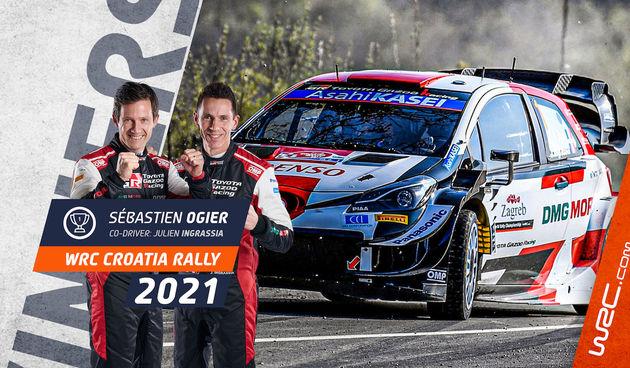 Slavni Francuz Sebastian Ogier pobjednik WRC Croatia - nakon tri sata jurnjave pobijedio za samo 0.6 sekundi ispred Britanca Evansa!