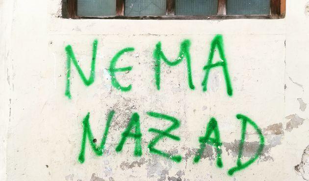nema nazad grafit