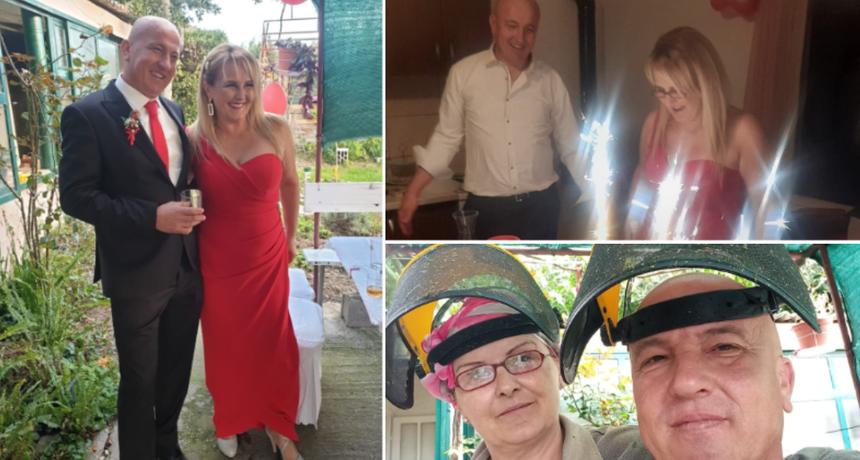 EKSKLUZIVNO - Dosad neviđene fotografije s vjenčanja Zorana i Suzi koji uživaju u braku: 'Do sada se još nismo ni porječkali'