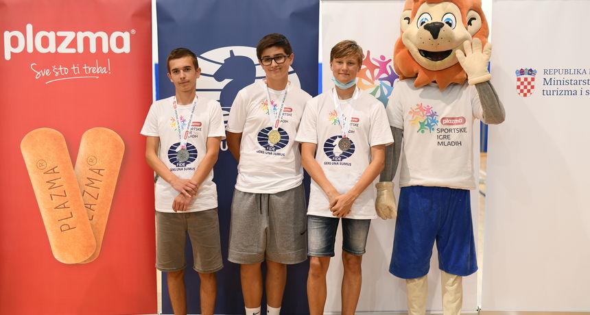 Zadranin Jure Tadić osvojio broncu u šahu na Sportskim igrama mladih