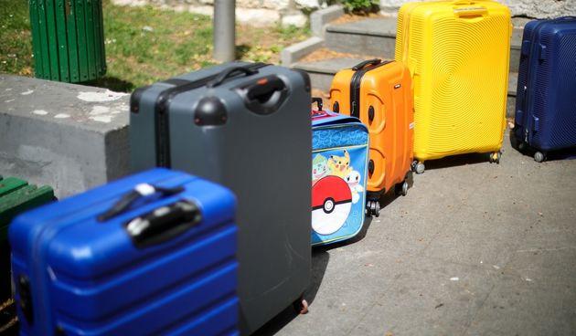 koferi, putovanje, putne torbe