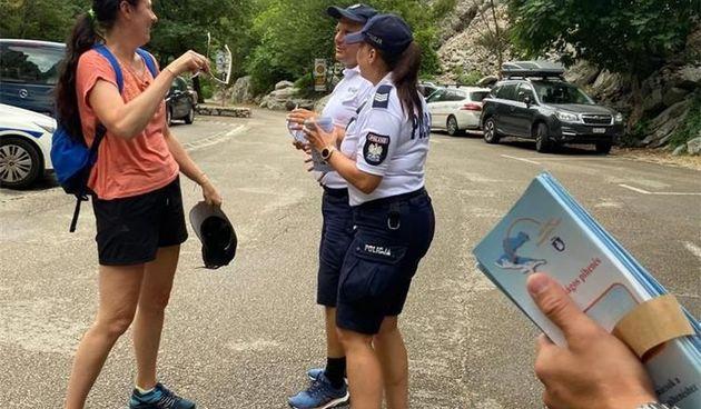 U NP Paklenica održame zajedničke aktivnosti domaćih i stranih policijskih službenika za sigurnost u turizmu