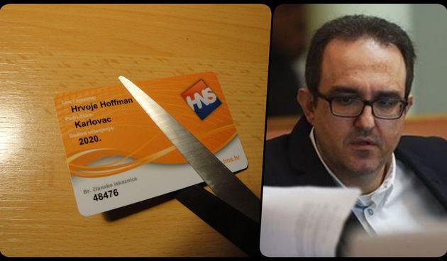 Hrvoje Hoffman trebao biti HNS-ov kandidat za gradonačelnika Karlovca, pa ga u zadnji čas