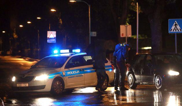 Policija noć/ Ilustracija