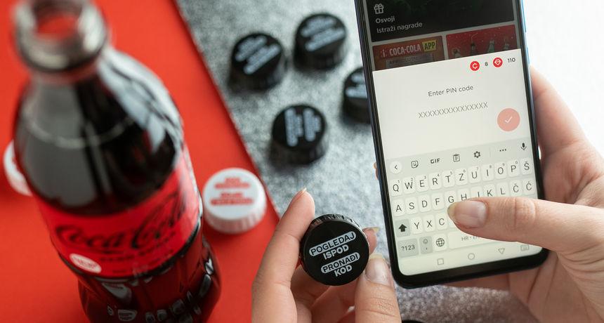 Coca-Cola App - apsolutni vrh zabave: Aplikacija u kojoj se igraš, otkrivaš trendove i neprestano osvajaš cool nagrade