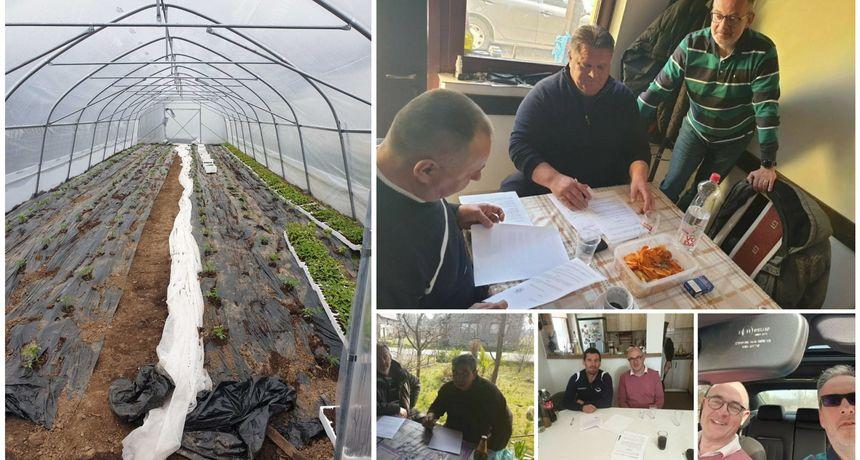 Varaždinski rotarijanci osigurali plastenike za stradala područja Sisačko-moslavačke županije