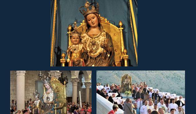 Pag, Velika Gospa, procesija