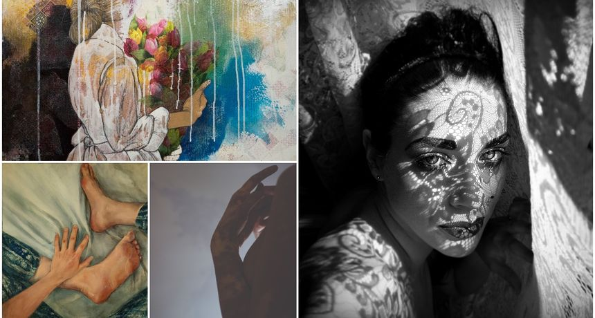 Otvorenje izložbe 'Woman about woman', sudjeluje i varaždinska umjetnica Mateja Rusak