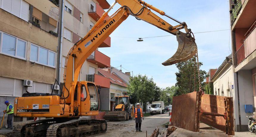 Započela velika obnova Istarske ulice:
