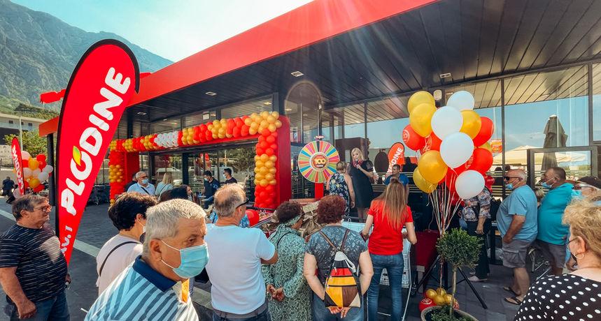 Plodine su okrunile svoj rad otvaranjem jubilarnog 100. supermarketa u Hrvatskoj