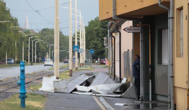 Veliko nevrijeme u Osijeku