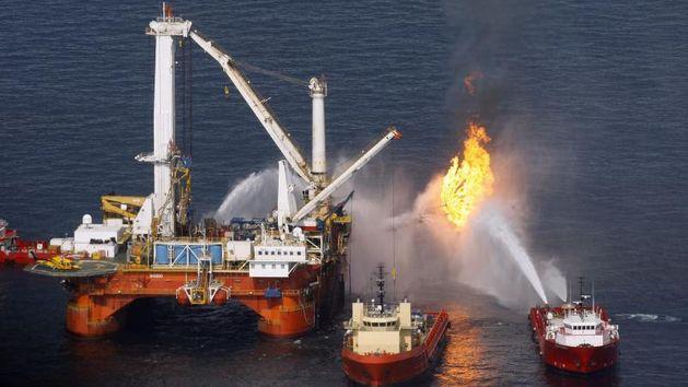 BP, Naftna katstrofa, Katastrofa, Meksički zaljev