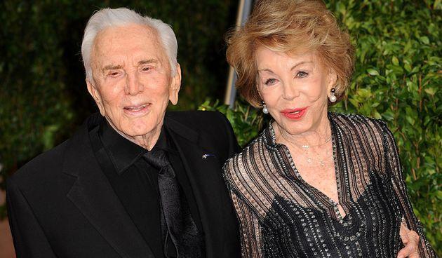 Anne i Kirk Douglas