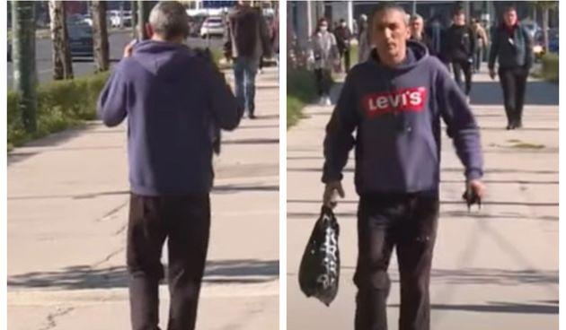Prešao igricu: Pogledajte kako se muškarac iz Sarajeva izvukao iz kazne za nenošenje maske