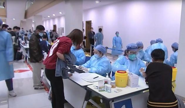Cijepljenje u Kini