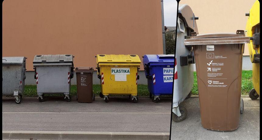 Karlovčani su konačno dočekali i smeđe kontejnere za biootpad - na ulice dolazi njih 1.100, treba znati što u njih odlagati