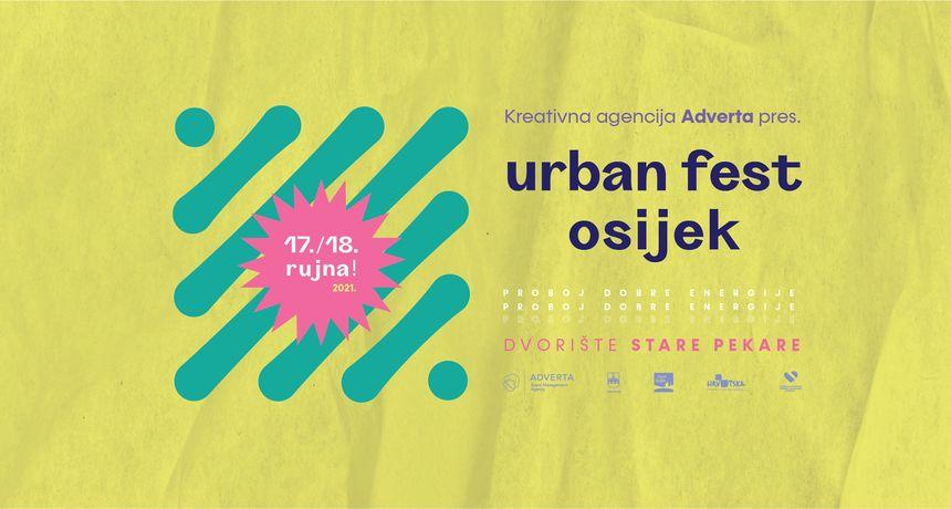 Urban Fest Osijek 2021: Pipsi, Kandžija, Ajs Negrutin, Gužva i Repetitori