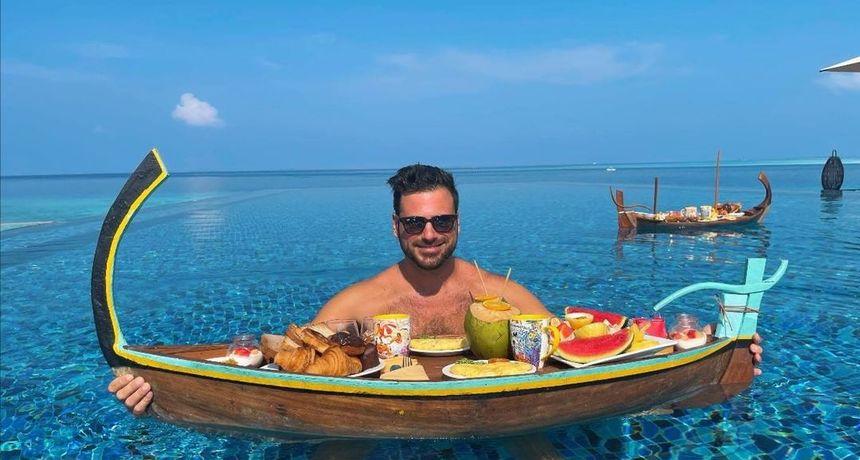 Raskrinkan: Sve što je Hauser objavljivao s Maldiva bilo je u promo svrhe i reklama za Balkance
