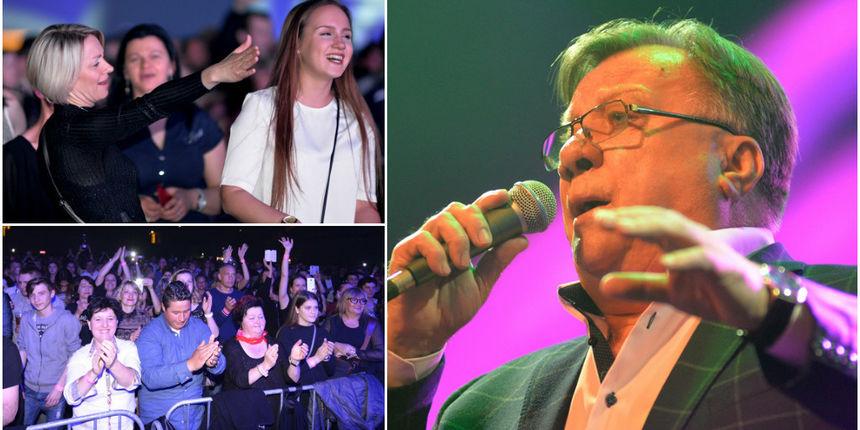 FOTO Mnogobrojna publika na Uskrs u Areni uživala u hitovima Halida Bešlića