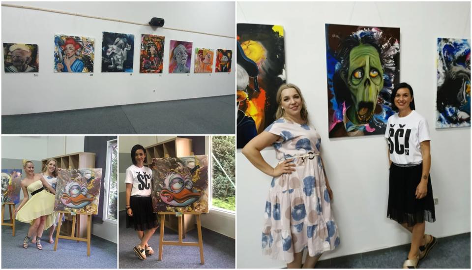 U centru Murai otvorena izložba 'U zdrav mozak' Kristine Tot Kaša
