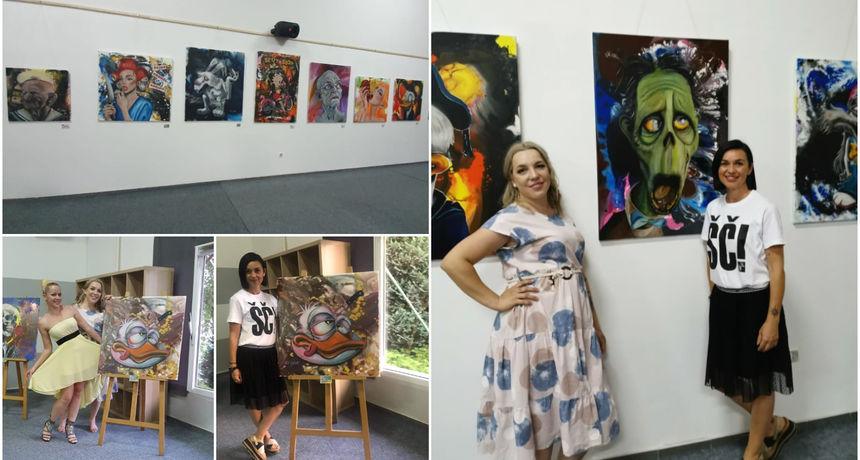 FOTO U centru Murai otvorena izložba 'U zdrav mozak' Kristine Tot Kaša