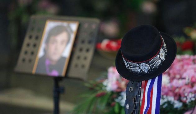 Posljednji ispraćaj Kiće Slabinca na zagrebačkom krematoriju