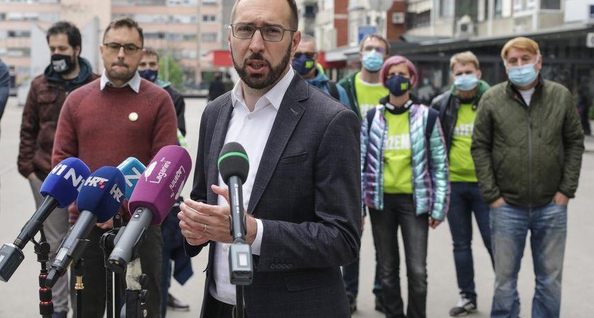 Možemo! i Zagreb je NAŠ! prozvali Mlinarića za lažnu prijavu radi političke promidžbe
