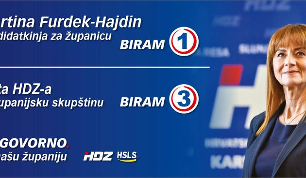Martina Furdek-Hajdin, kandidatkinja za županicu: Imamo snagu, imamo viziju i pokazali smo da smo siguran izbor