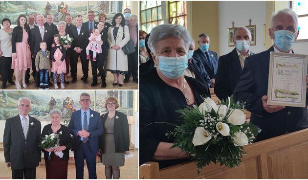 PROSLAVILI 60 GODINA BRAKA Velika godišnjica braka Marije i Franje Bogdana iz Hlapičine