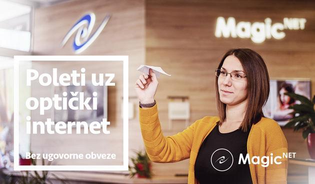 Magic Net Poleti uz opticki internet