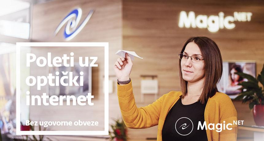 MAGIC NET Poleti uz optički internet