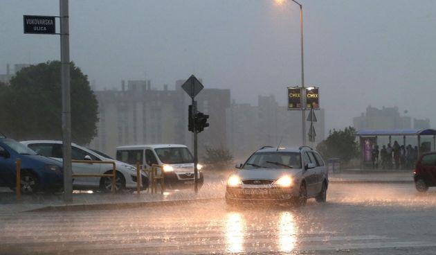 kiša split