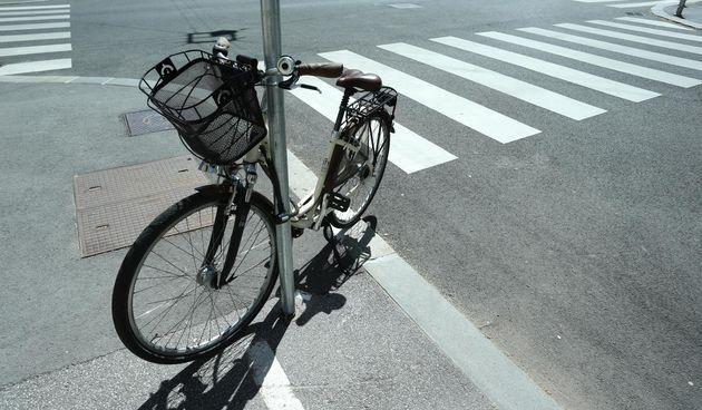 Bicikl na zebri