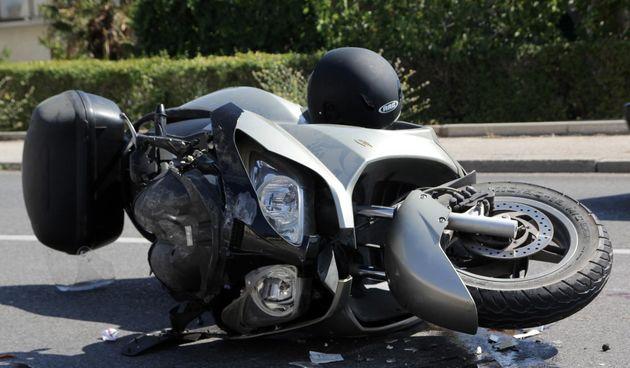 Prometna nesreća skuter