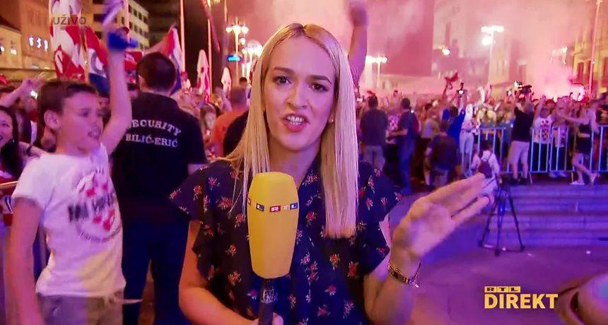 Pogledajte euforiju na Trgu bana Jelačića dok Hrvatska vodi protiv Škotske!