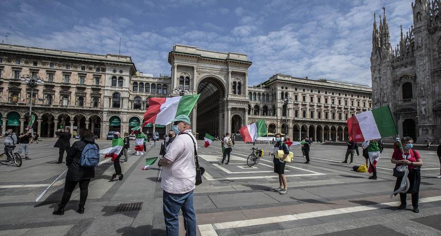Italija će u ponedjeljak dodatno popustiti mjere, a Nizozemska ukida nošenje maski od 26. lipnja