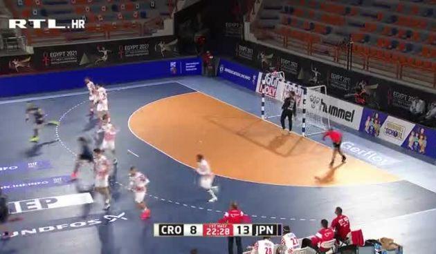 Hrvatska obrana neprepoznatljiva, Japanci na plus šest! (thumbnail)