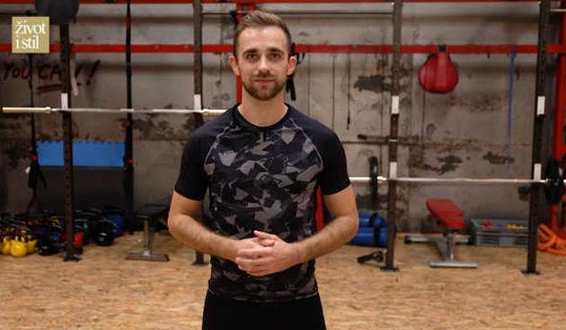 Vježbajte kod kuće pilates za snažan core uz trenera Vedrana Spevana (thumbnail)