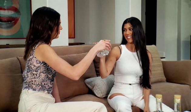 Kendall Jenner i Kourtney Kardashian